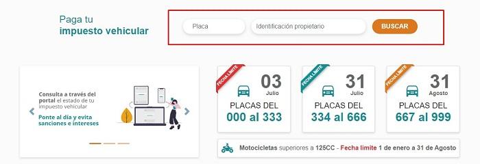 pagar-impuesto-vehicular-cali